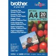 BP-71GA4 Glossy A4 Brother papīrs 260g/m2, 20loksnes